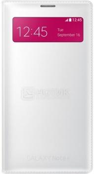 Чехол Samsung S View Wallet EF-EN910FTEGRU для Samsung Galaxy Note 4 SM-N910, Полиуретан, Белый