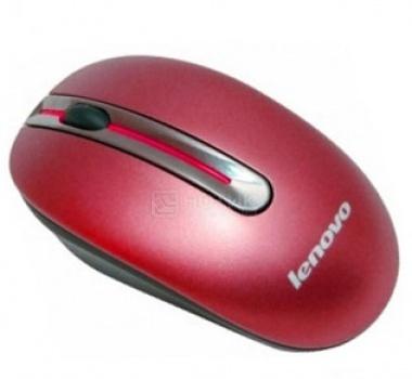 Мышь беспроводная Lenovo N3903 Cherry Red, Красный 888013581 от Нотик