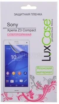 Защитная пленка LuxCase для Sony Xperia Z3 Compact, Суперпрозрачная