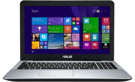 Ноутбук Asus X550ZE (15.6 LED/ A8-Series 7200P 2400MHz/ 6144Mb/ HDD 1000Gb/ AMD Radeon R5 M230 2048Mb) MS Windows 8.1 (64-bit) [90NB06Y2-M00670]