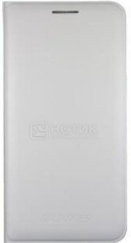 Чехол Samsung Flip Wallet EF-WE500BWEGRU для Samsung Galaxy E5, Полиуретан, Белый