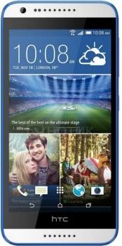 Смартфон HTC Desire 620G Dual Sim EEA Glossy White Blue (Android 4.4/MT6592M 1700MHz/5.0