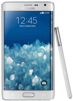 "Смартфон Samsung Galaxy Note Edge SM-N915F White (Android 4.4/Snapdragon 805 2700MHz/5.6"" (2560х1440)/3072Mb/32Gb/4G LTE 3G (EDGE, HSDPA, HSPA+)) [SM-N915FZWESER] от Нотик"