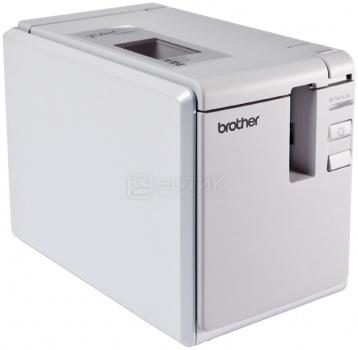 Принтер для наклеек Brother PT-9700PC настольный, авторезак, от 3,5 до 36мм, до 80мм/сек, 360т/д, USB, Белый PT9700PCR1