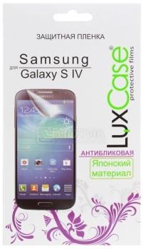 Защитная пленка LuxCase для Samsung Galaxy S IV, Антибликовая