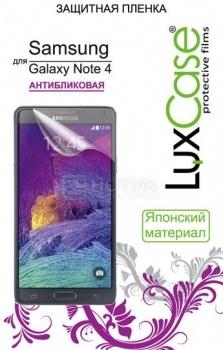 Защитная пленка LuxCase для Samsung Galaxy Note 4, Антибликовая