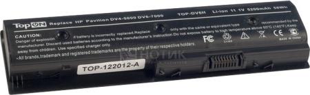 Аккумулятор TopON TOP-DV6H 11.1V 5200mAh для PN: LB3N LB3P MO06 MO09 YB3N YB3PTopON<br>Аккумулятор TopON TOP-DV6H 11.1V 5200mAh для PN: LB3N LB3P MO06 MO09 YB3N YB3P<br>