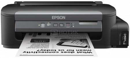 Принтер струйный монохромный Epson M105, A4,34 стр/мин, WiFi,USB,Черный C11CC85311