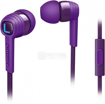 Наушники Philips SHE-7055 PP/00, Фиолетовый от Нотик