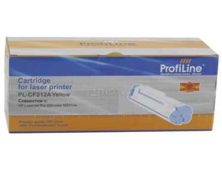 Картридж ProfiLine PL-CF212A (131A)/731 для LaserJet Pro 200 M251 MFP M276 HP 618, 1800 стр. Желтый