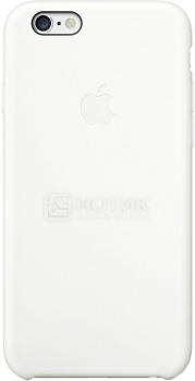 Чехол-накладка для iPhone 6 Apple Silicone Case, Силикон, Белый MGQG2ZM/A от Нотик