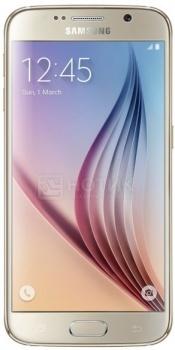 """Смартфон Samsung Galaxy S6 32Gb Gold Platinum SM-G920FZDASER (Android 5.0/Exynos 7420 2100MHz/5.1"""" (2560х1440)/3072Mb/32Gb/4G LTE 3G (EDGE, HSDPA, HSUPA)) [SM-G920FZDASER] от Нотик"""