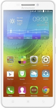 Смартфон Lenovo A5000 White (Android 4.4/MT6582 1300MHz/5.0