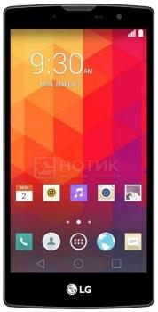 Смартфон LG Magna H502F Black Titan (Android 5.0/MT6582 1300MHz/5.0 (1280x720)/1024Mb/8Gb/ 3G (EDGE, HSDPA, HSPA+)) [LGH502F.ACISKT]LG<br>5.0 MediaTek 1300 МГц 1024 Мб Flash drive 8 Гб Android 5.0 бат. - до 10.0 ч Черный<br>