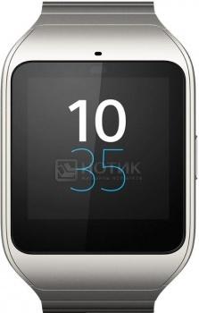 Смарт-часы Sony SmartWatch 3 1,6(320х320) ARM A7 1200 МГц(4) (0,5/4)Гб A4.3 BT NFC GPS 420мАч Серебристый SWR50 Metal /SW3Sony<br>Смарт-часы Sony SmartWatch 3 1,6(320х320) ARM A7 1200 МГц(4) (0,5/4)Гб A4.3 BT NFC GPS 420мАч Серебристый SWR50 Metal /SW3<br>