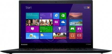 Ультрабук Lenovo ThinkPad X1 Carbon 3 (14.0 IPS (LED)/ Core i7 5500U 2400MHz/ 8192Mb/ SSD 512Gb/ Intel HD Graphics 5500 64Mb) MS Windows 8.1 Professional (64-bit) [20BS006RRT]