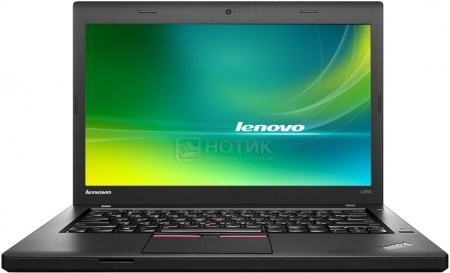 Ноутбук Lenovo ThinkPad L450 (14.0 LED/ Core i3 5005U 2000MHz/ 4096Mb/ HDD+SSD 500Gb/ Intel HD Graphics 5500 64Mb) MS Windows 7 Professional (64-bit) [20DT0014RT]Lenovo<br>14.0 Intel Core i3 5005U 2000 МГц 4096 Мб DDR3-1600МГц HDD+SSD 500 Гб MS Windows 7 Professional (64-bit), Черный<br>