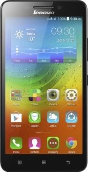 """Смартфон Lenovo A5000 Black (Android 4.4/MT6582 1300MHz/5.0"""" (1280x720)/1024Mb/8Gb/ 3G (EDGE, HSDPA, HSPA+)) [P0SE000BRU] от Нотик"""