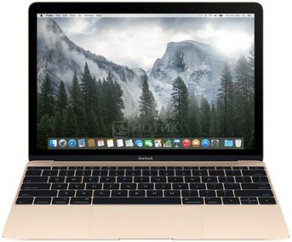 Ноутбук Apple MacBook MK4M2RU/A (12.0 Retina/ Core M 5Y51 1100MHz/ 8192Mb/ SSD 256Gb/ Intel HD Graphics 5300 64Mb) Mac OS X 10.10 (Yosemite) [MK4M2RU/A]Apple<br>12.0 Intel Core M 5Y51 1100 МГц 8192 Мб DDR3-1600МГц SSD 256 Гб Mac OS X 10.10 (Yosemite), Золотистый<br>