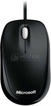 Мышь проводная Microsoft Compact Optical Mouse 500, 800dpi, Черный