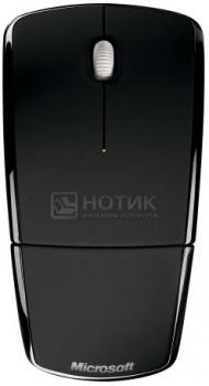 Мышь беспроводная Microsoft Arc Mouse, 1000dpi, Черный