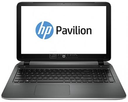 Ноутбук HP Pavilion 15-p270ur (15.6 LED/ Core i3 5010U 2100MHz/ 4096Mb/ HDD 500Gb/ NVIDIA GeForce 830M 2048Mb) MS Windows 8.1 (64-bit) [L2V65EA]HP<br>15.6 Intel Core i3 5010U 2100 МГц 4096 Мб DDR3-1600МГц HDD 500 Гб MS Windows 8.1 (64-bit), Серебристый<br>