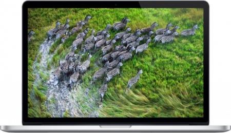 Ноутбук Apple MacBook Pro MJLQ2RU/A (15.4 Retina/ Core i7 4770HQ 2200MHz/ 16384Mb/ SSD 256Gb/ Intel Iris Pro 5200 512Mb) Mac OS X 10.10 (Yosemite) [MJLQ2RU/A] от Нотик