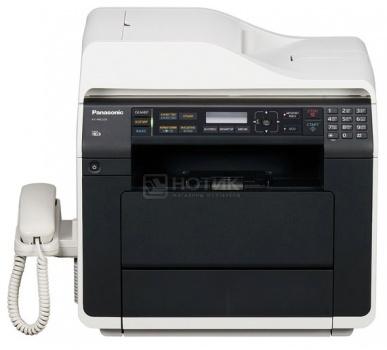 МФУ лазерное монохромное Panasonic KX-MB2230RU, A4, ADF, 28стр/мин, 64Мб, факс, USB, LAN, Белый/Черный