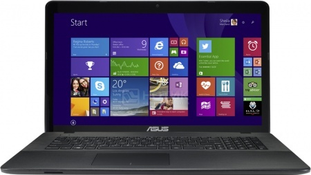 Ноутбук Asus X751LAV (17.3 LED/ Core i5 5200U 2200MHz/ 8192Mb/ HDD 1000Gb/ Intel HD Graphics 5500 64Mb) MS Windows 8.1 (64-bit) [90NB04P1-M02760]