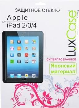 Защитное стекло LuxCase для Apple iPad 2/3/4, 0,33 мм 80284