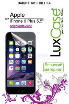 Защитное стекло LuxCase для Apple iPhone 6 Plus, 0,33 мм, Антибликовое 81215