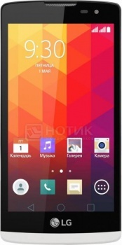 Смартфон LG Leon H324 White (Android 5.0/MT6582 1300MHz/4.5