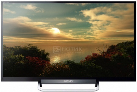 Телевизор SONY 24 KDL-24W605A HD, Smart TV, Черный