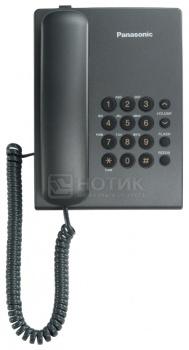 Телефон Panasonic KX-TS2350RUT, Темно-серый