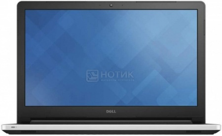 Ноутбук Dell Inspiron 5558 (15.6 LED/ Core i3 4005U 1700MHz/ 4096Mb/ HDD 500Gb/ Intel HD Graphics 4400 64Mb) MS Windows 8.1 (64-bit) [5558-7054]Dell<br>15.6 Intel Core i3 4005U 1700 МГц 4096 Мб DDR3-1600МГц HDD 500 Гб MS Windows 8.1 (64-bit), Белый<br>