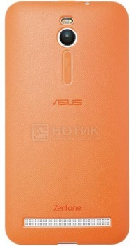 Чехол Asus Bumper Case для ZenFone 2 ZE550ML/ZE551ML, Полиуретан, Оранжевый 90XB00RA-BSL2X0