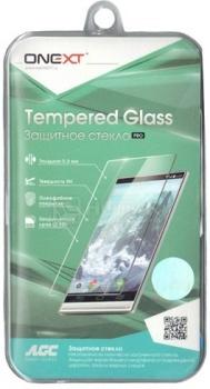 Защитное стекло ONEXT для Samsung Galaxy A3 40826 защитное стекло для samsung galaxy s5 g900f g900fd onext
