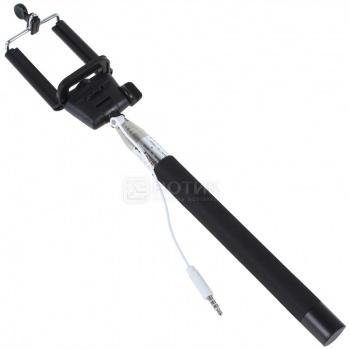 Штатив для селфи (монопод) KS MT-01 с кабелем, Черный 33383
