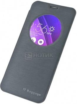 Чехол IT Baggage для смартфона Asus Zenfone 2 ZE550MLZE551ML,  ITASZ2-1, Искусственная кожа, Черный от Нотик