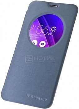 Чехол IT Baggage для смартфона Asus Zenfone 2 ZE550ML\ZE551ML, ITASZ2-4, Искусственная кожа, Синий от Нотик