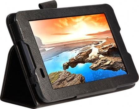 Чехол IT Baggage для планшета Lenovo A7-30 (A3300) ITLNA3302-1, Искусственная кожа, Черный