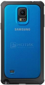 Чехол Samsung Schutz-Cover EF-PN910BLEGRU для Samsung Galaxy Note 4, Поликарбонат, Синий