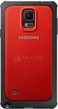 Чехол Samsung Schutz-Cover EF-PN910BREGRU для Samsung Galaxy Note 4, Поликарбонат, Красный