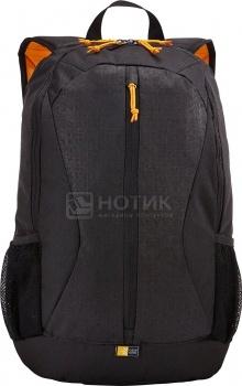 """Рюкзак 15.6"""" Case Logic Ibira IBIR-115K, Полиэстер, Черный от Нотик"""
