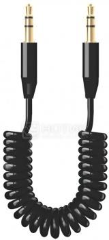 Кабель Deppa 72182 Mini jack-Mini jack 2м, витой, Черный от Нотик