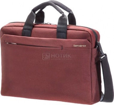"Сумка 13-14,1"" Samsonite 41U*00*003, Полиэстер, Красный"