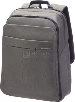 """Фотография товара рюкзак 15-16"""" Samsonite 41U*08*007, Полиэстер, Серый (40596)"""