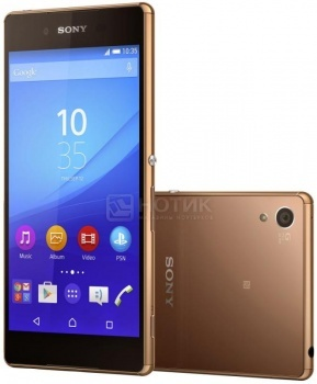 Защищенные смартфоны Sony Xperia Z3 Plus Copper (Android 5.0/MSM8994 2000MHz/5.2 (1920x1080)/3072Mb/32Gb/4G LTE 3G (EDGE, HSDPA, HSUPA)) [1294-6734]Sony<br>5.2 Qualcomm 2000 МГц 3072 Мб Flash drive 32 Гб Android 5.0 бат. - до 17.0 ч Коричневый<br>