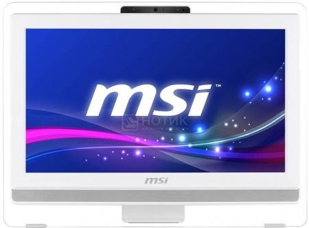 Моноблок MSI Wind Top AE201-080RU (19.5 LED/ Pentium Dual Core G3250 3200MHz/ 4096Mb/ HDD 500Gb/ Intel HD Graphics 64Mb) Free DOS [9S6-AA8212-080]MSI<br>19.5 Intel Pentium Dual Core G3250 3200 МГц 4096 Мб DDR3-1333МГц HDD 500 Гб Free DOS, Белый<br><br>Сенсорный экран: да<br>Разрешение экрана: (1600x900)<br>Размер экрана: 19<br>Тип: Моноблок<br>Установленная ОС: Free DOS<br>Wi-Fi: да<br>Интерфейс USB 3.0: да<br>Интерфейс FireWire: нет<br>Интерфейс DVI: нет<br>Интерфейс HDMI: да<br>Кардридер: да<br>Тип оптического привода: DVD±RW<br>Размер видеопамяти Мб: 64<br>Видеопроцессор: Intel HD Graphics<br>Твердотельный диск (SSD): нет<br>Объем жесткого диска Гб: 500<br>Тип памяти: DDR3<br>Размер оперативной памяти Гб: 4<br>Частота процессора МГц: 3200<br>Тип процессора: Intel Pentium Dual Core