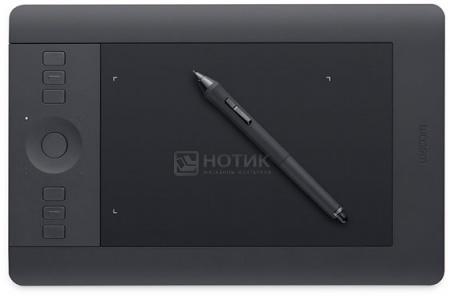 Графический планшет Wacom Intuos Pro Small, Черный PTH-451-RUPL от Нотик